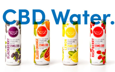 Featured Products: Sprig and Wyld CBD Water